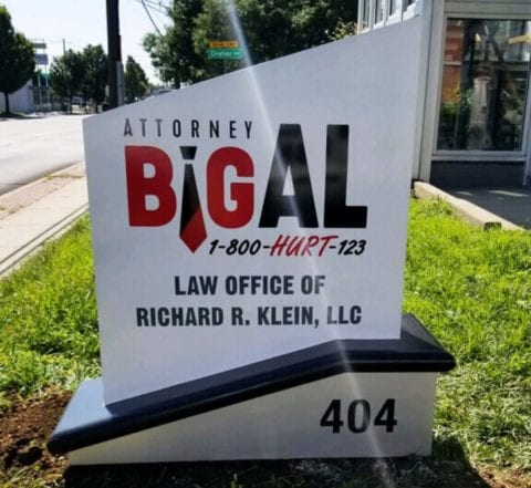 BigAl outdoor signage