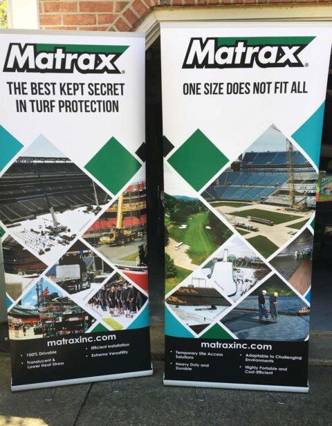 Matrax displays