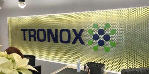 Tronox signage