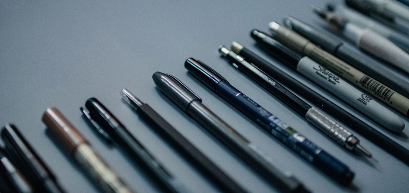 Custom pens with PMS matching color and logo engraving
